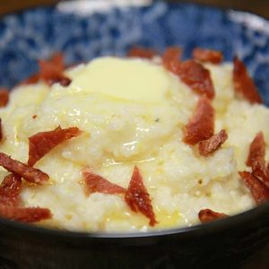 Stone Ground Country Ham Grits