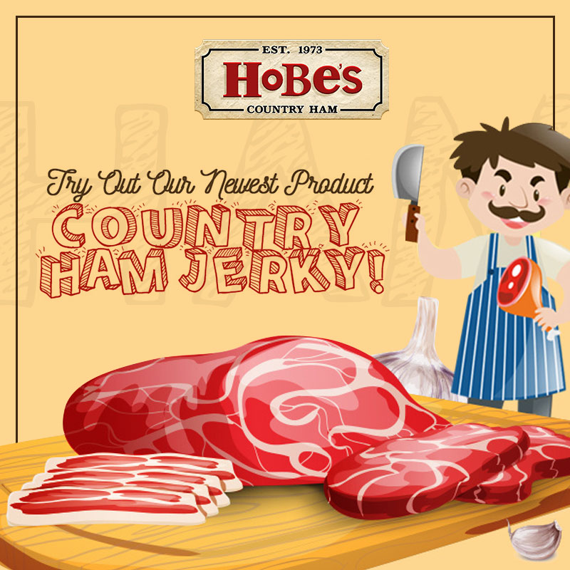 Try Out Our Newest Product – Country Ham Jerky!