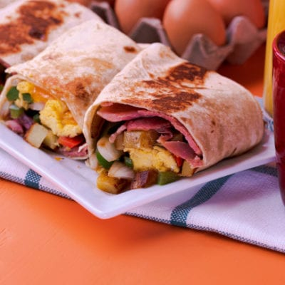 Toasted Breakfast Wrap