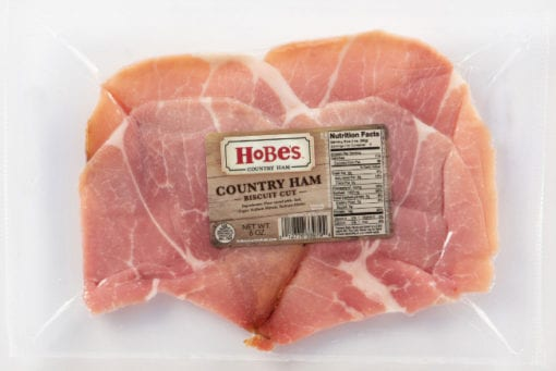 Country Ham Biscuit Cut Slices