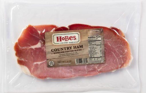 59 Country Ham Boneless Center Cut Slices