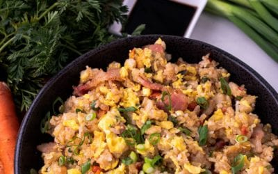 Pork Side Meat Fried Rice