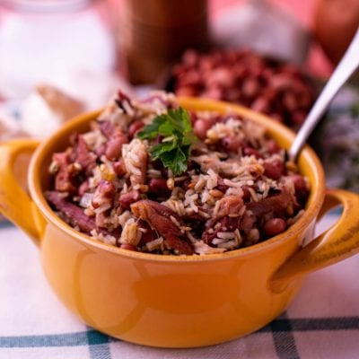 Red Beans & Rice with Ham Hock