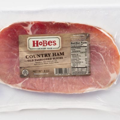 Old Fashioned Country Ham Slices